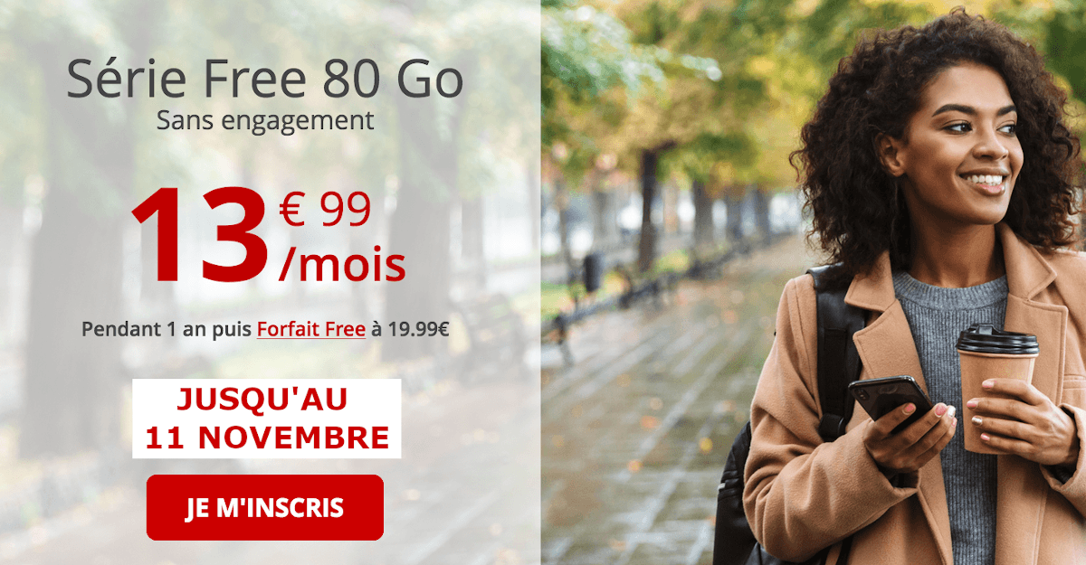 Forfait 4G Série Free Mobile