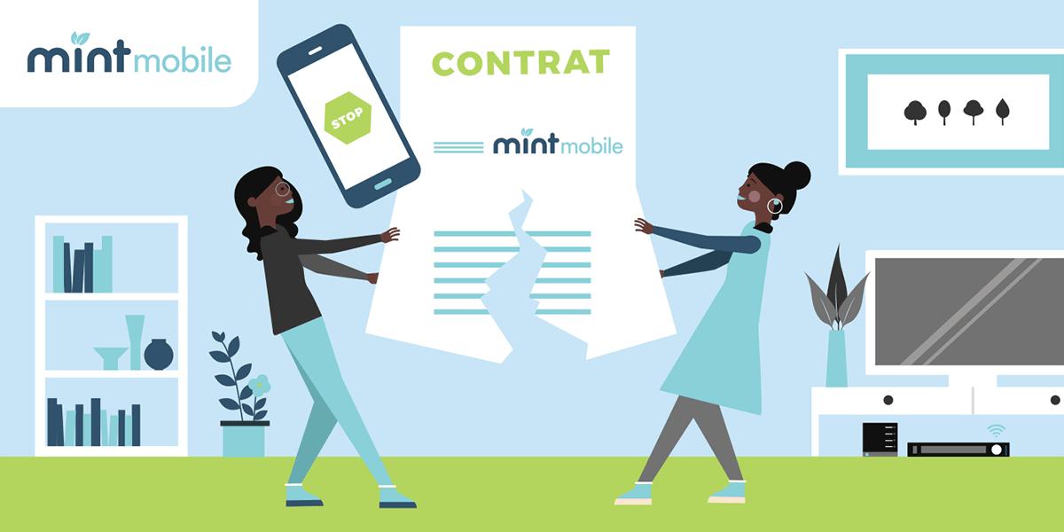 Résilier son offre mobile Mint