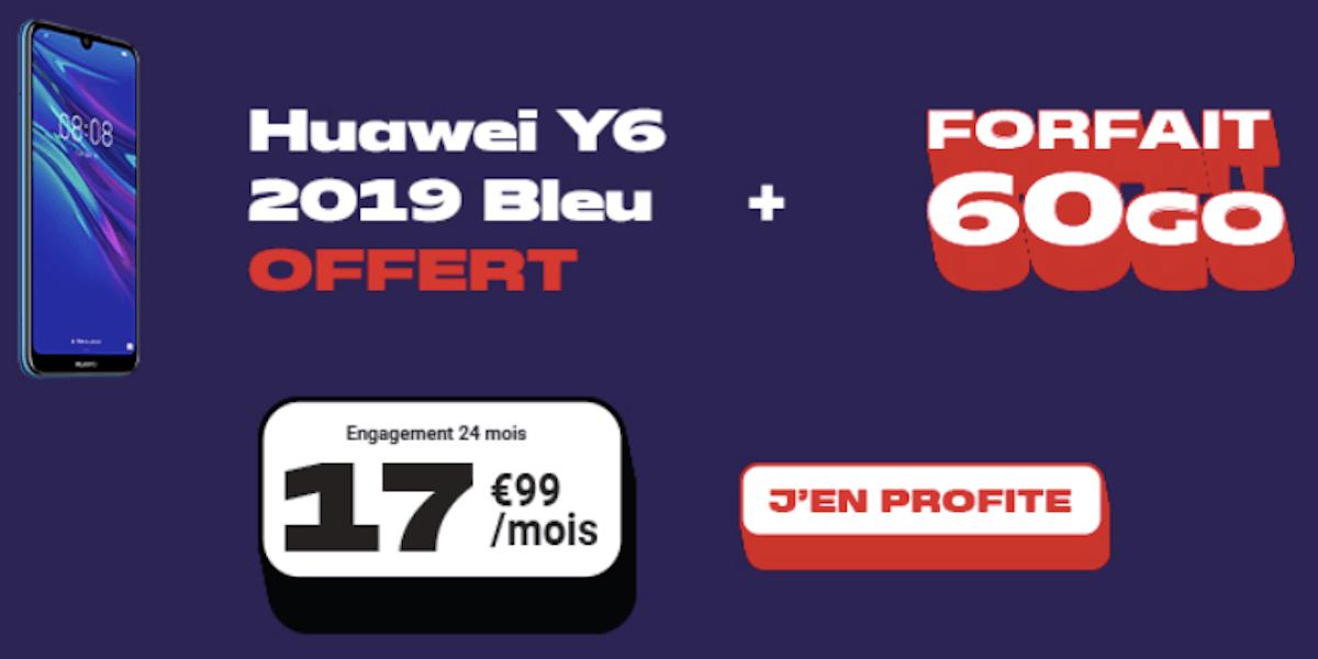 Huawei Y6 2019 NRJ Mobile