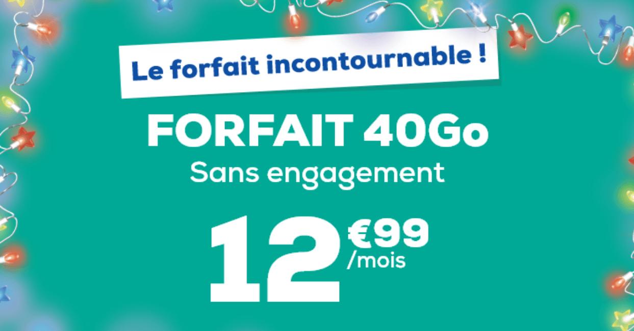 La Poste Mobile : 40 Go pour 12,99€