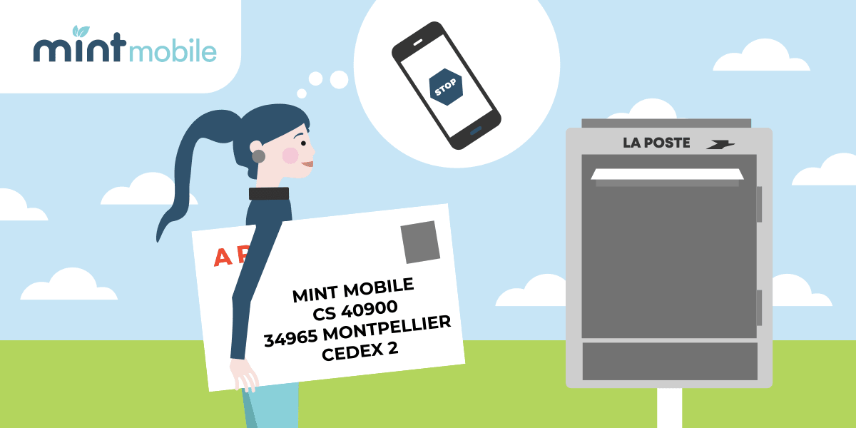 Envoyer une lettre de résiliation à Mint Mobile