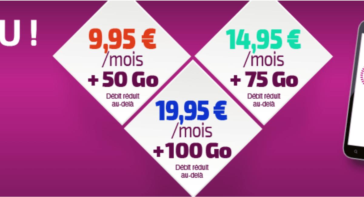 Réglo Mobile : 50 Go pour 9,95€mois
