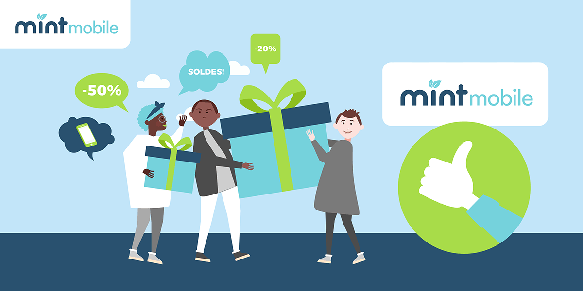 Les avantages des forfaits Mint Mobile.
