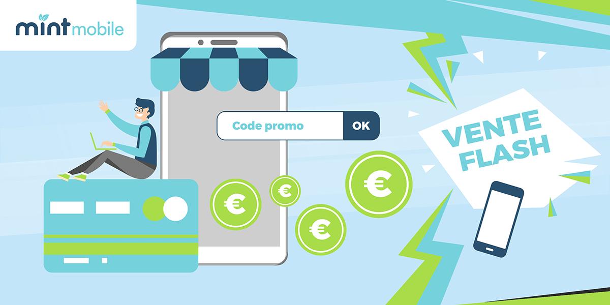 Les codes promos Mint Mobile.