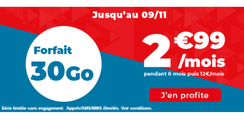 Auchan Telecom 30 Go