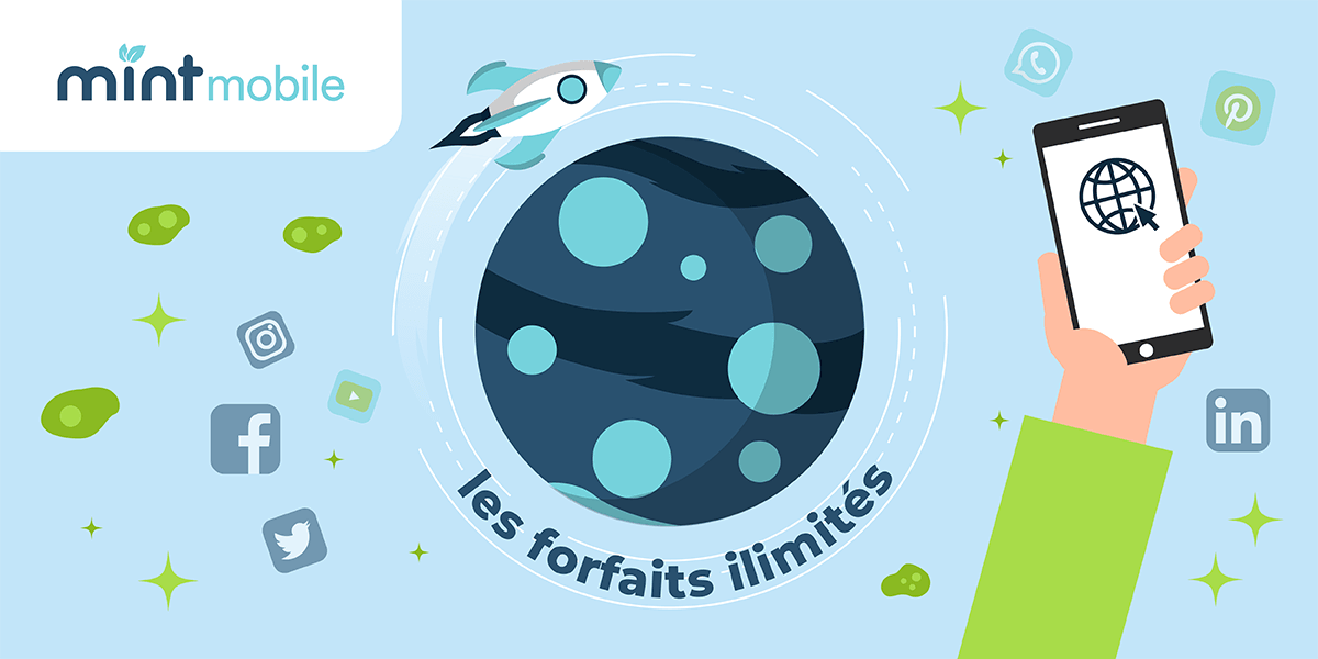 Mint Mobile : les forfaits mobiles.