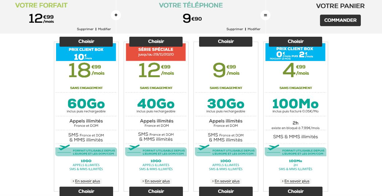 La Poste Mobile : 40 Go d'Internet