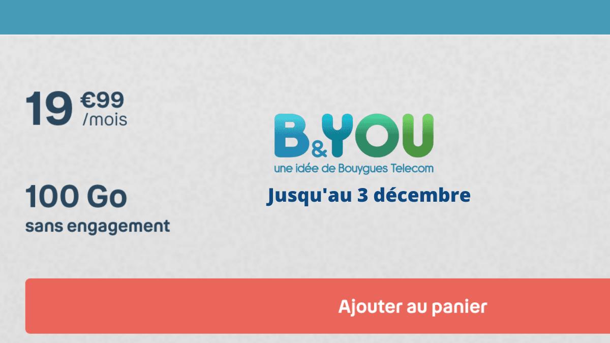 L'offre 100 Go de Bouygues Telecom