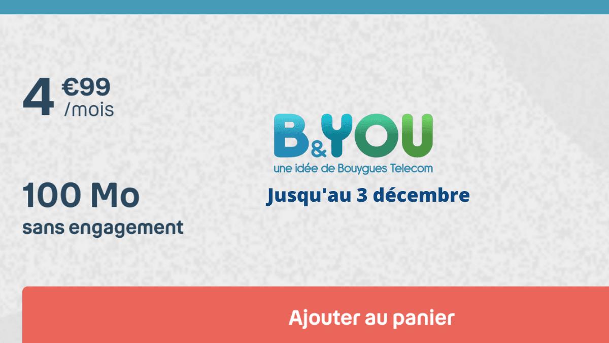 L'offre 100 Mo de Bouygues Telecom