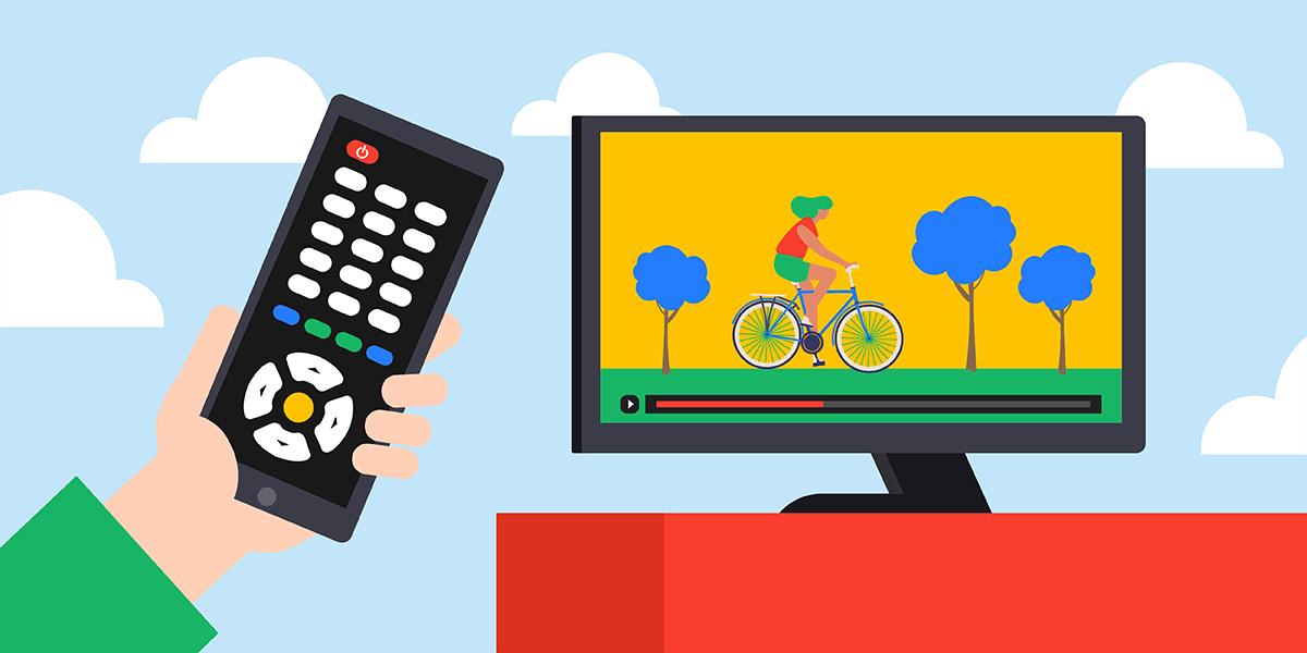 Utiliser son smartphone comme télécommande TV.