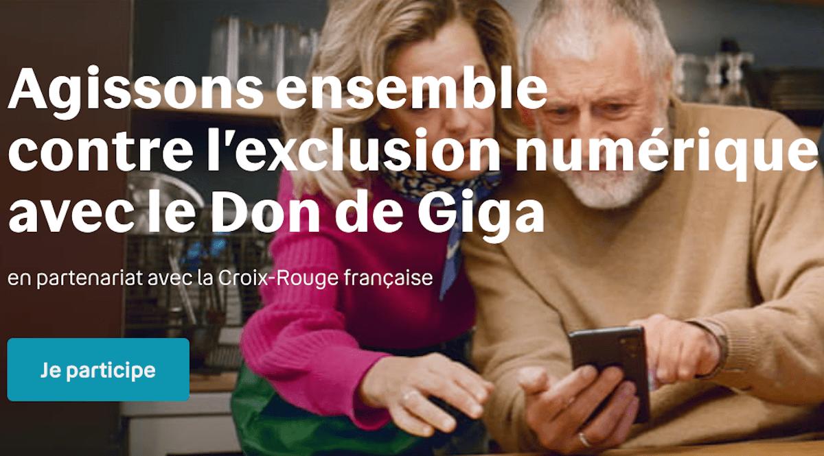 Bouygues Telecom opération don de giga