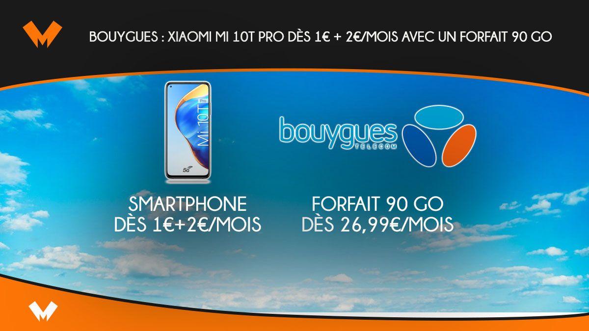 Xiaomi Mi 10t Pro A Partir De 31 2 Mois Avec Un Forfait 5g
