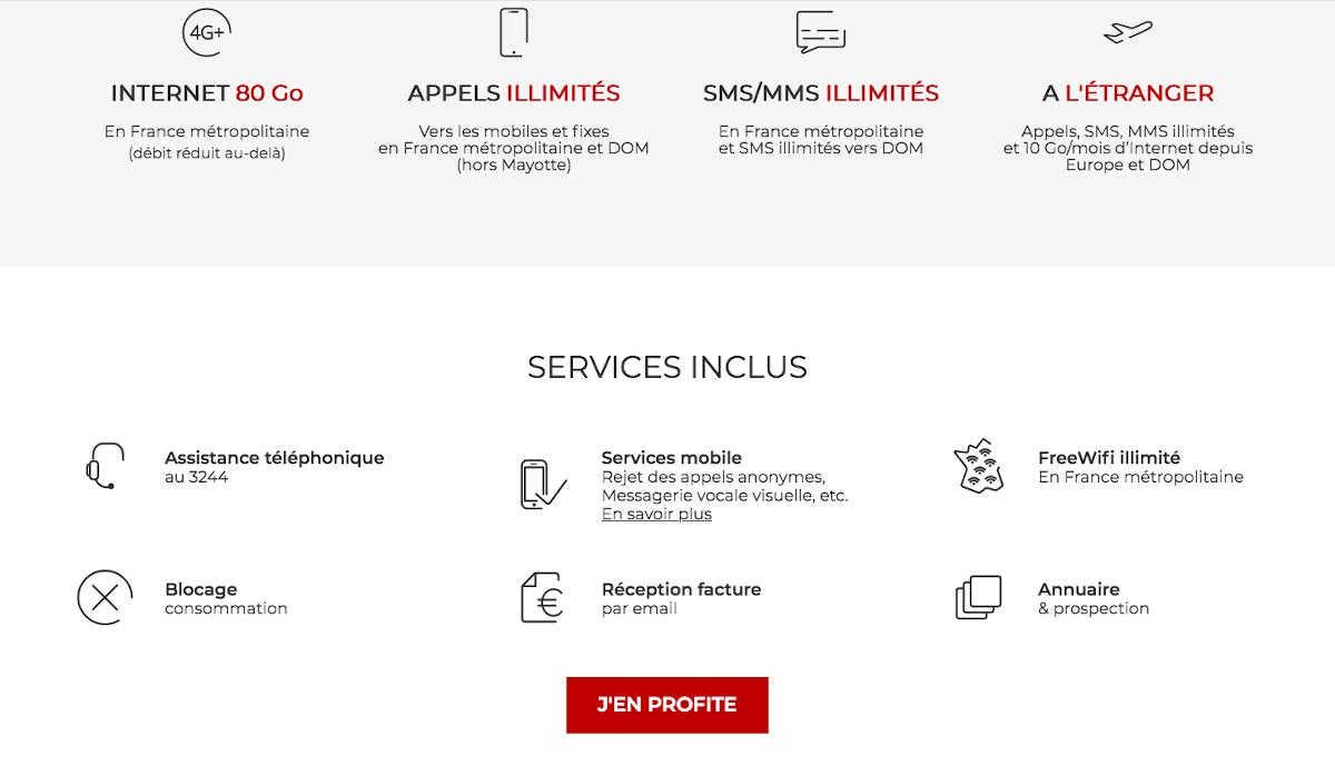 Free Mobile forfait Noël illimité en promo sans engagement