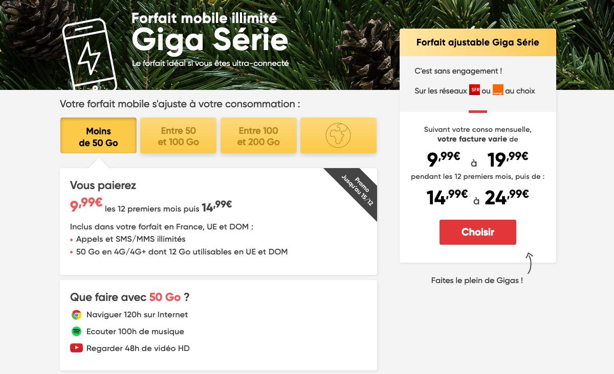 Giga Serie Prixtel