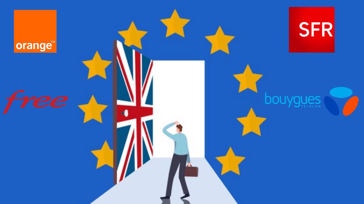Les frais d'itinérance ne changent pas pour les français suite au Brexit.