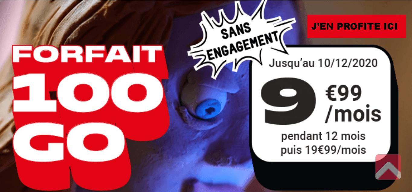 NRJ Mobile et ses 100 Go