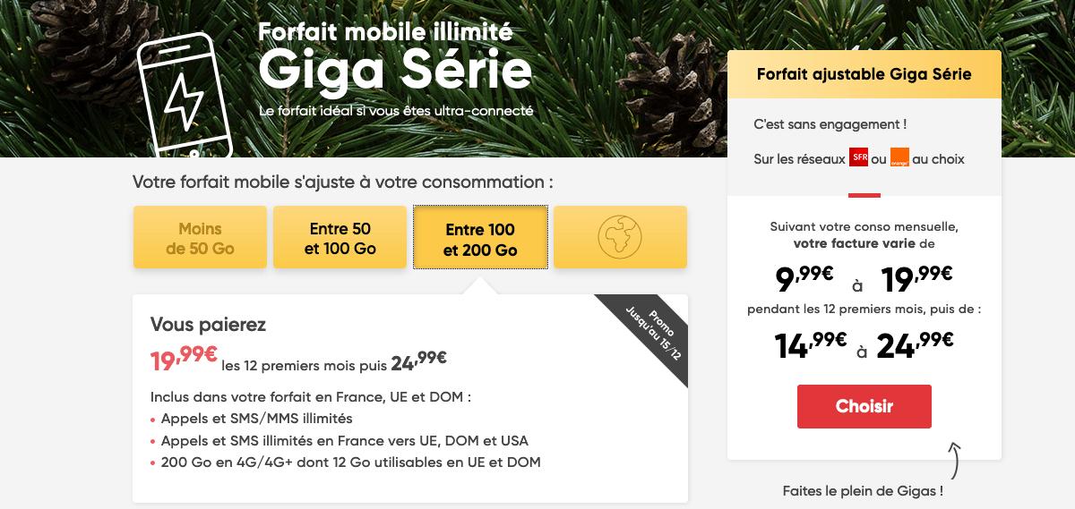 Prixtel Giga Serie