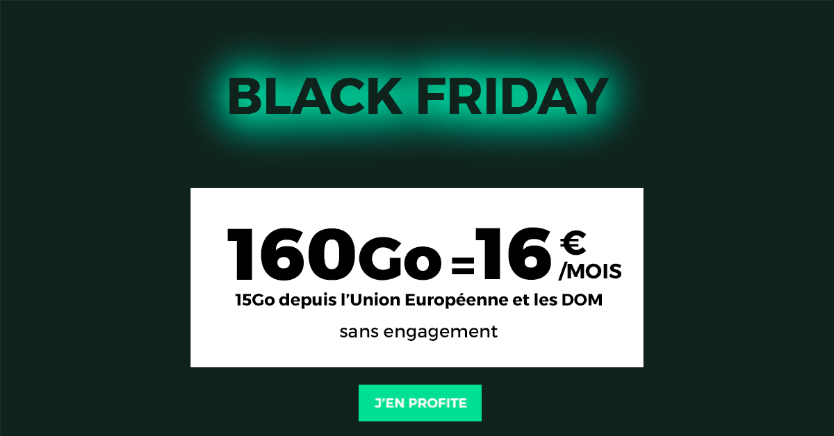 L'offre Black Friday de RED by SFR