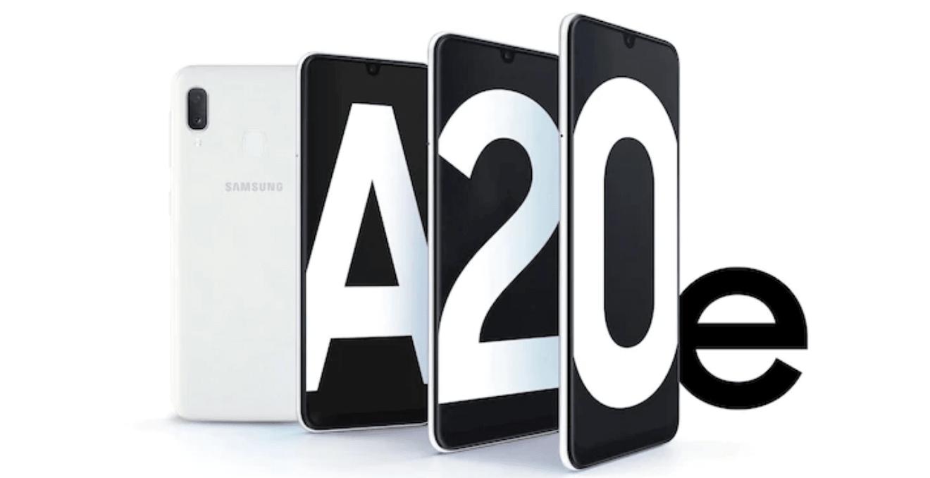 Le Samsung Galaxy A20E