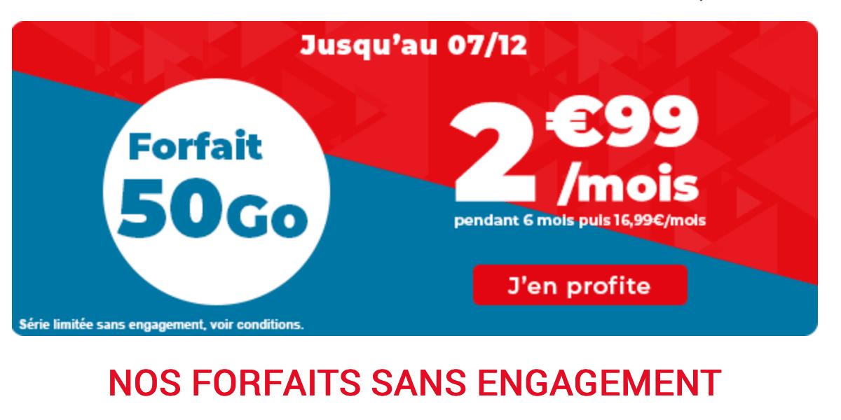 L'offre de Auchan télécom pour le Black Friday