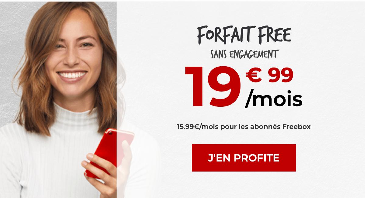 l'offre 100 Go : le Forfait Free