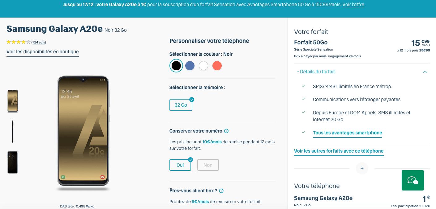 Un forfait 50 Go chez Bouygues Telecom