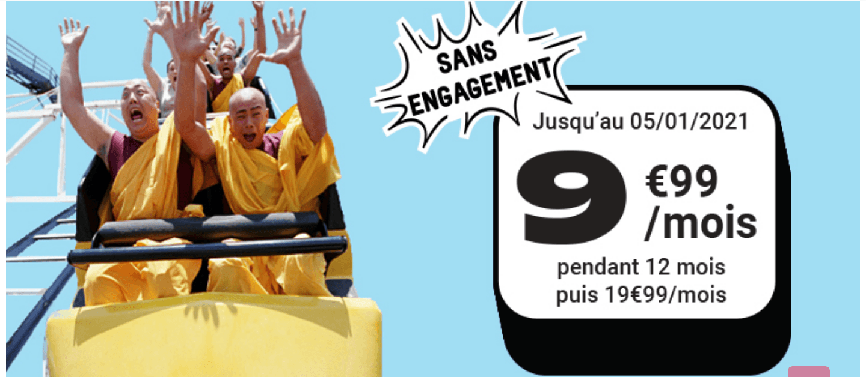 NRJ Mobile: seulement 10 euros pour un forfait 4G