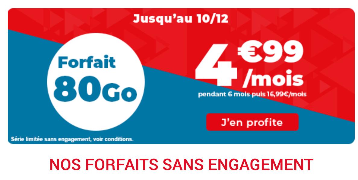 L'offre de Auchan télécom