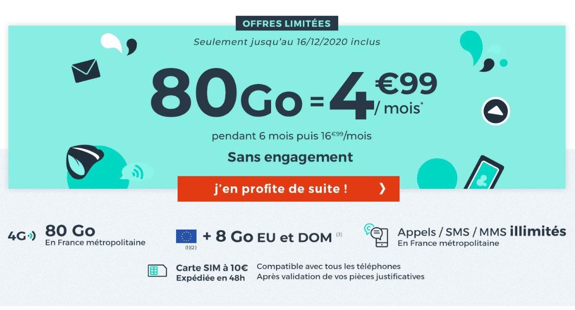 L'offre sans engagement de Cdiscount Mobile