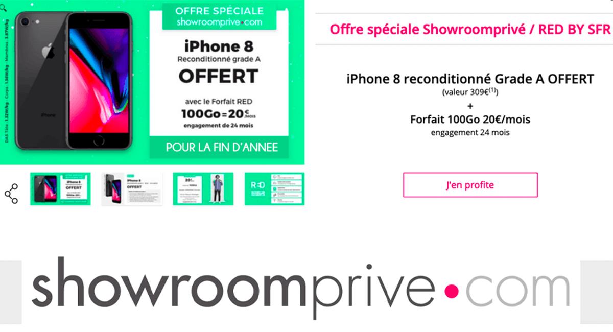 L'offre spéciale du forfait 100 Go RED à 20€