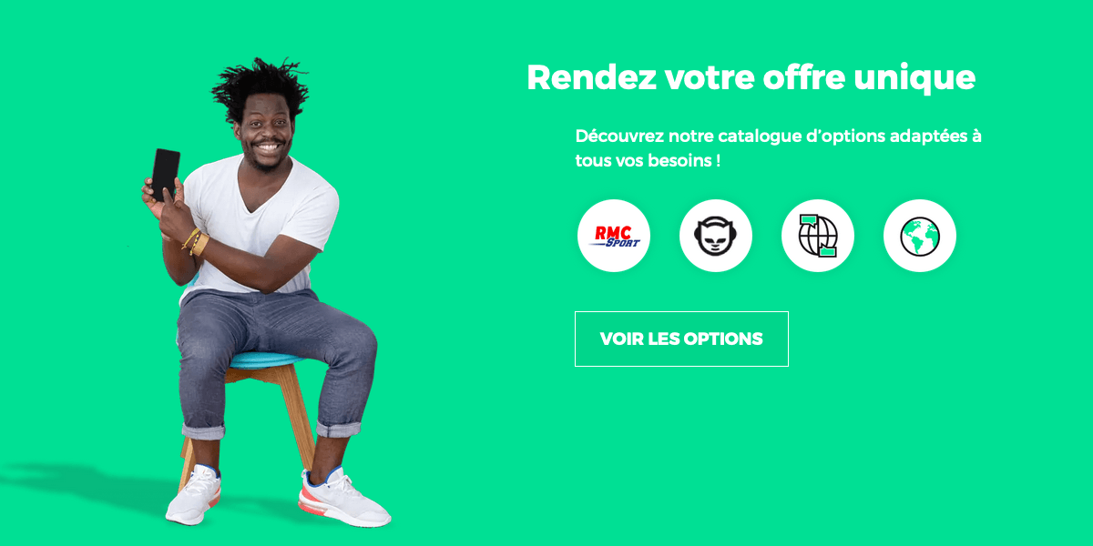 Les options RED by SFR