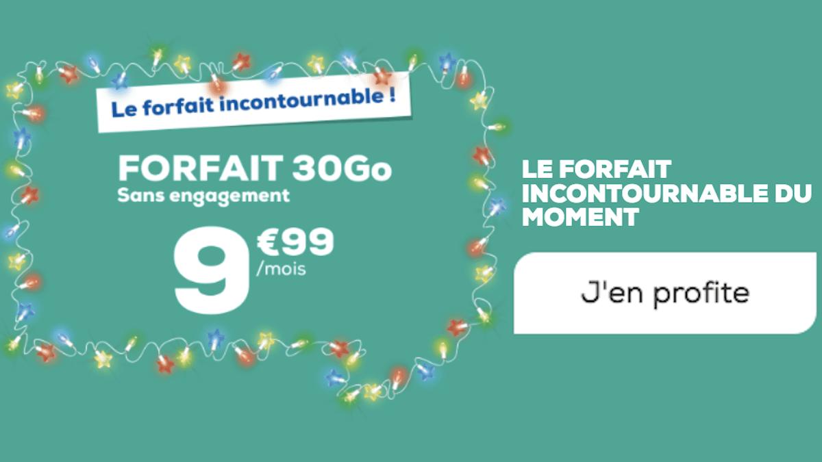 Forfait 30 Go La Poste Mobile