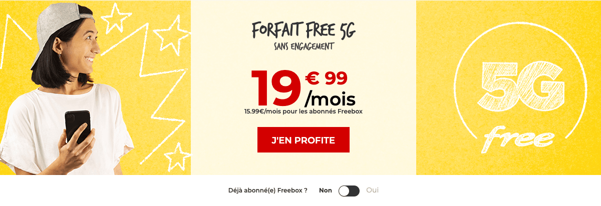 Free mobile offre 5G