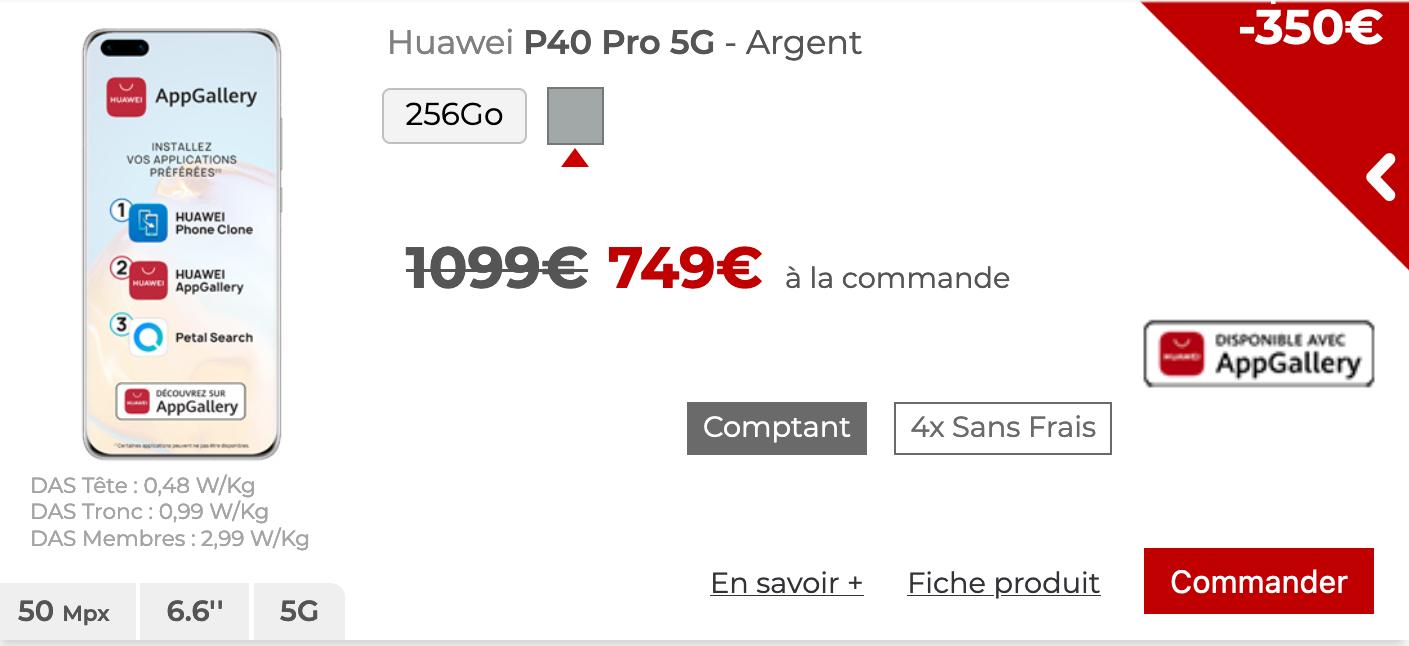 Huawei P40 Pro 5G Free