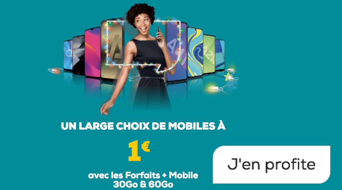 Smartphone 1€ La Poste Mobile