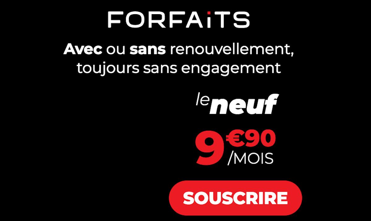 Syma Mobile forfait illimité Le Neuf 40 Go