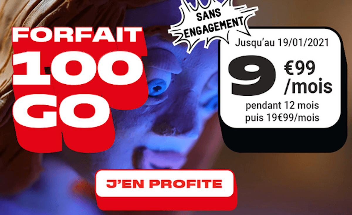 Woot NRJ Mobile promo forfait mobile 4G