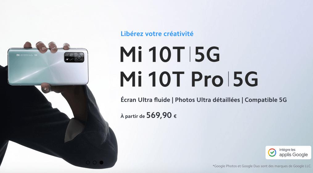 Xiaomi Mi 10T Pro avec Bouygues offre