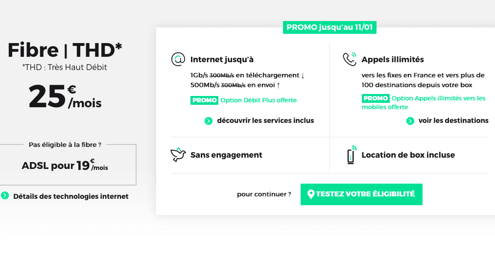 box internet RED by SFR offre en cours