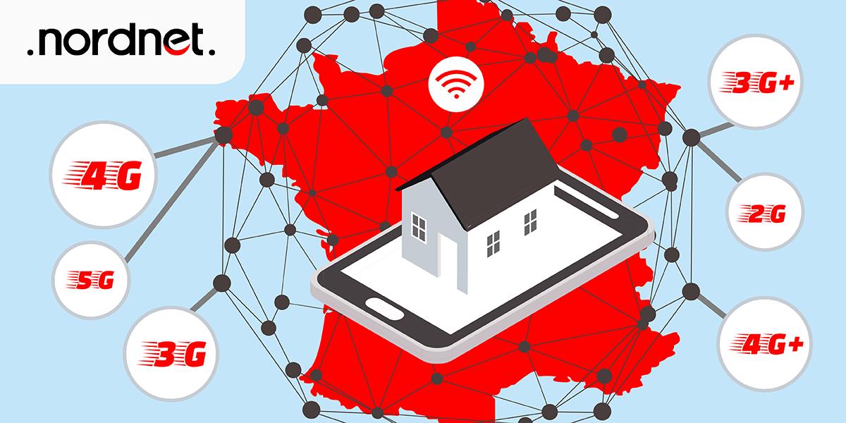 Nordnet : la couverture réseau.