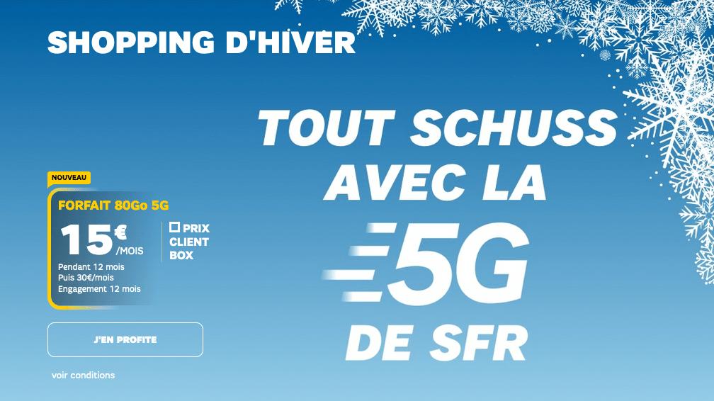 forfait 5G offre SFR