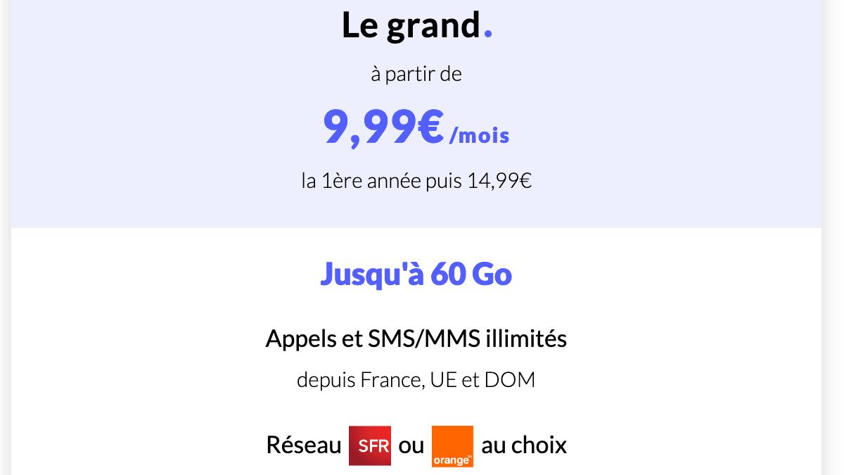 L'offre 4G Le grand