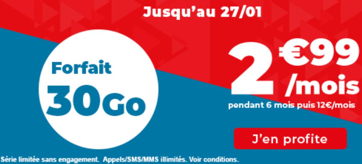 L'offre 4G de Auchan télécom