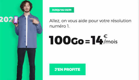 Promo forfait RED by SFR.