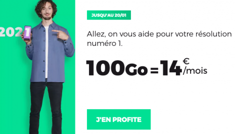 Forfait 100 Go RED by SFR.