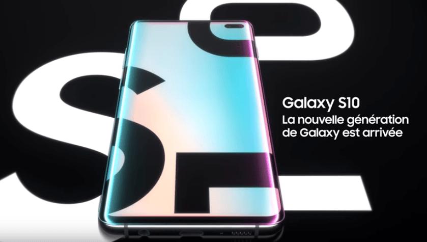 Samsung Galaxy S10 avec SFR