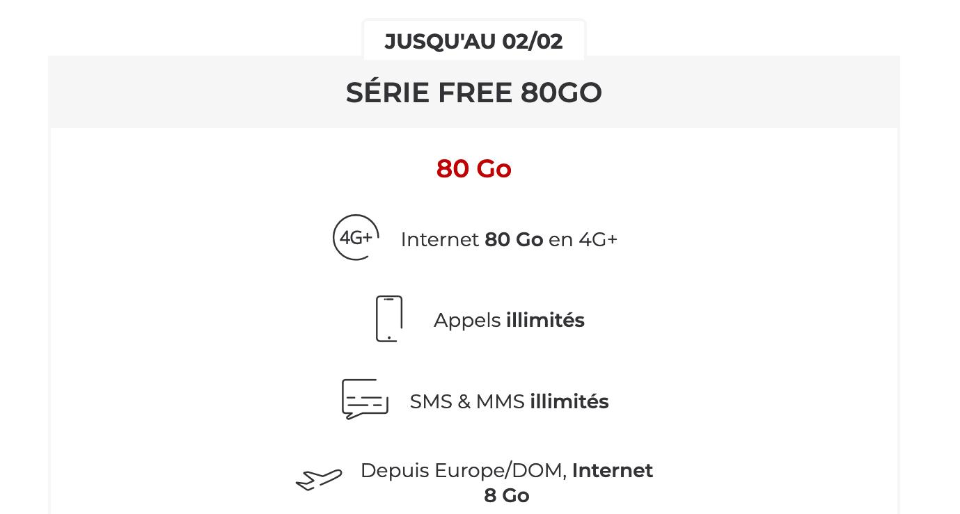 La Série Free 80 Go