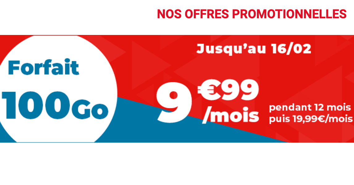 Forfait à moins de 10€ Auchan Telecom