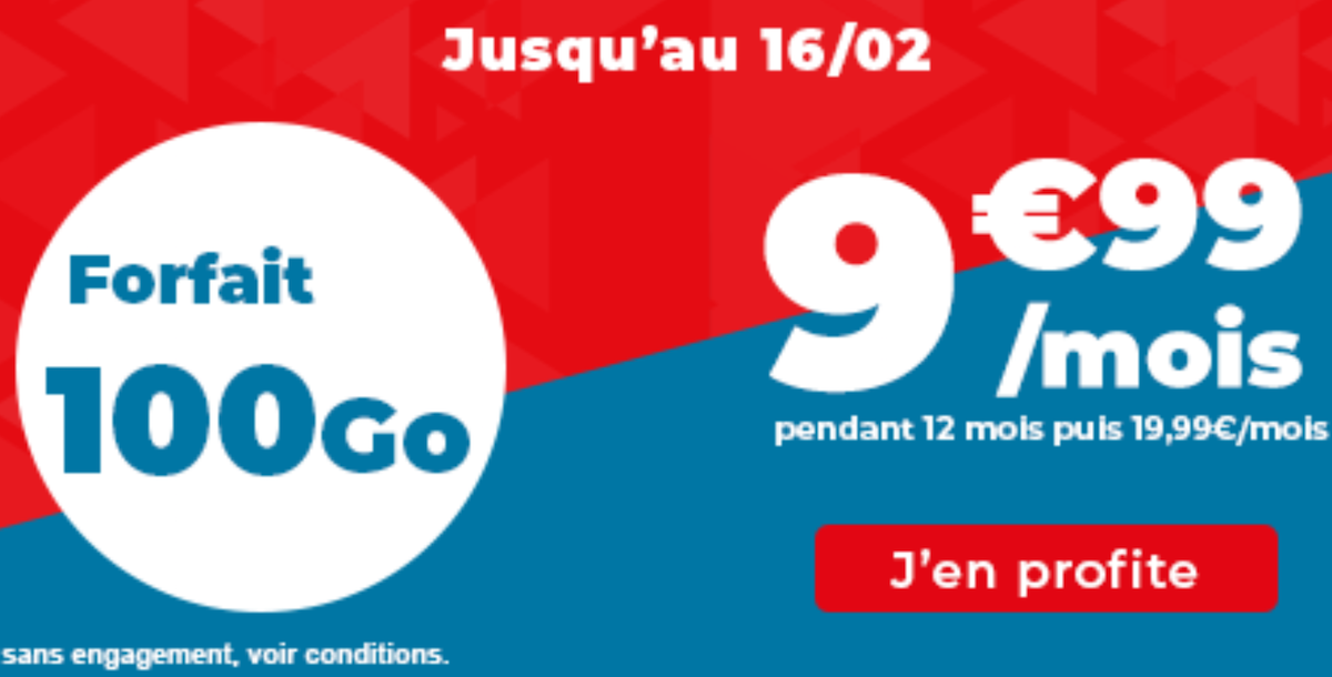 Auchan telecom 100 Go