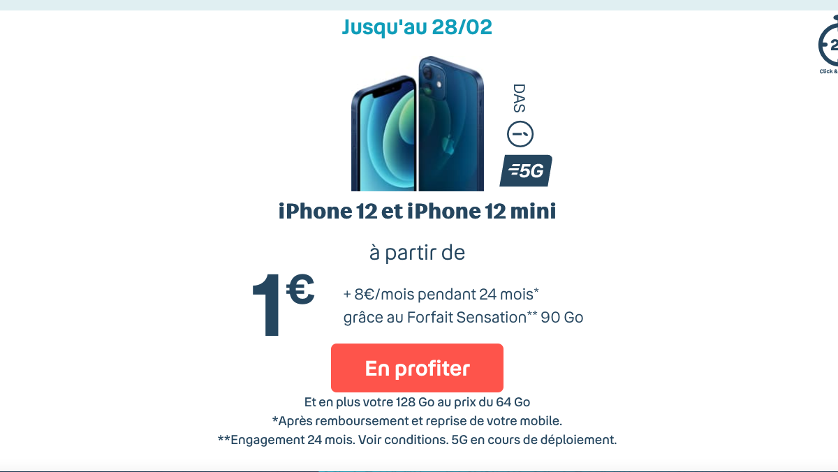Bouygues Iphone 12